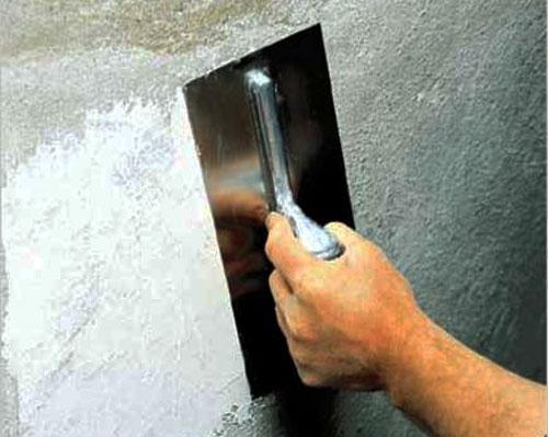 Выравнивание стен строительными смесями