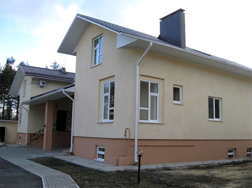 Фасады домов фото отделка штукатурка фасада