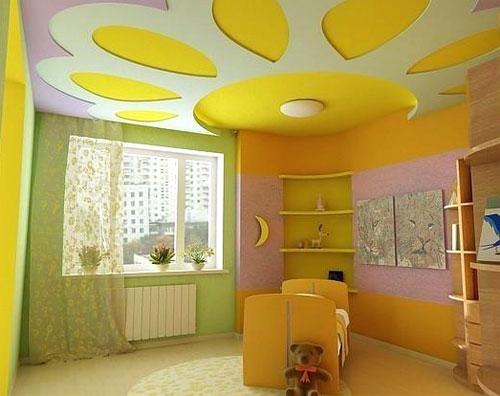 Выбирая цвет стен в детской комнате