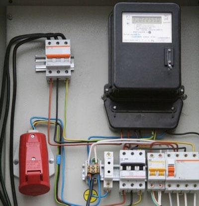 принципиальная электрическая схема бетономешалки