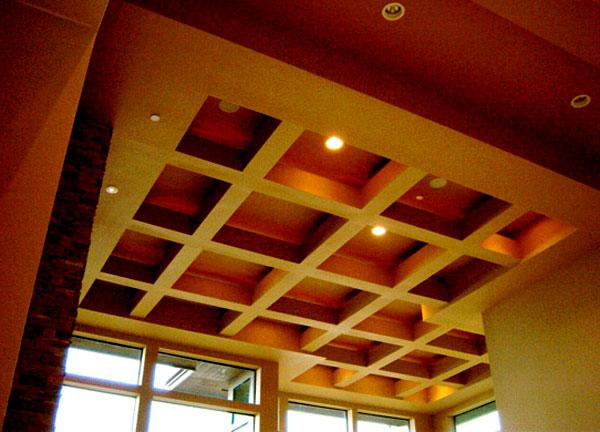 Потолок из гипсокартона #12