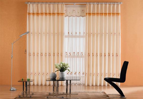 Современный дизайн штор на кухню фото