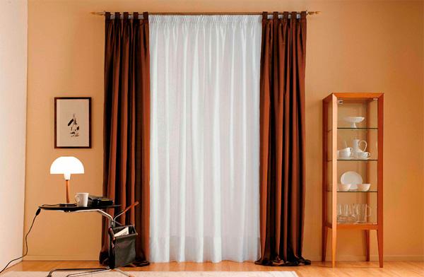 шторы для зала смотреть фото