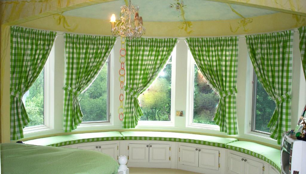 Дизайн окно с эркером фото